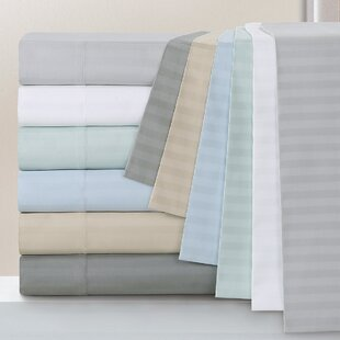 Milne 800 Thread Count Egyptian Quality Cotton Stripe Pillow Cases (Set of 2)