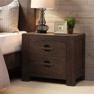Carressa 2 Drawer Nightstand