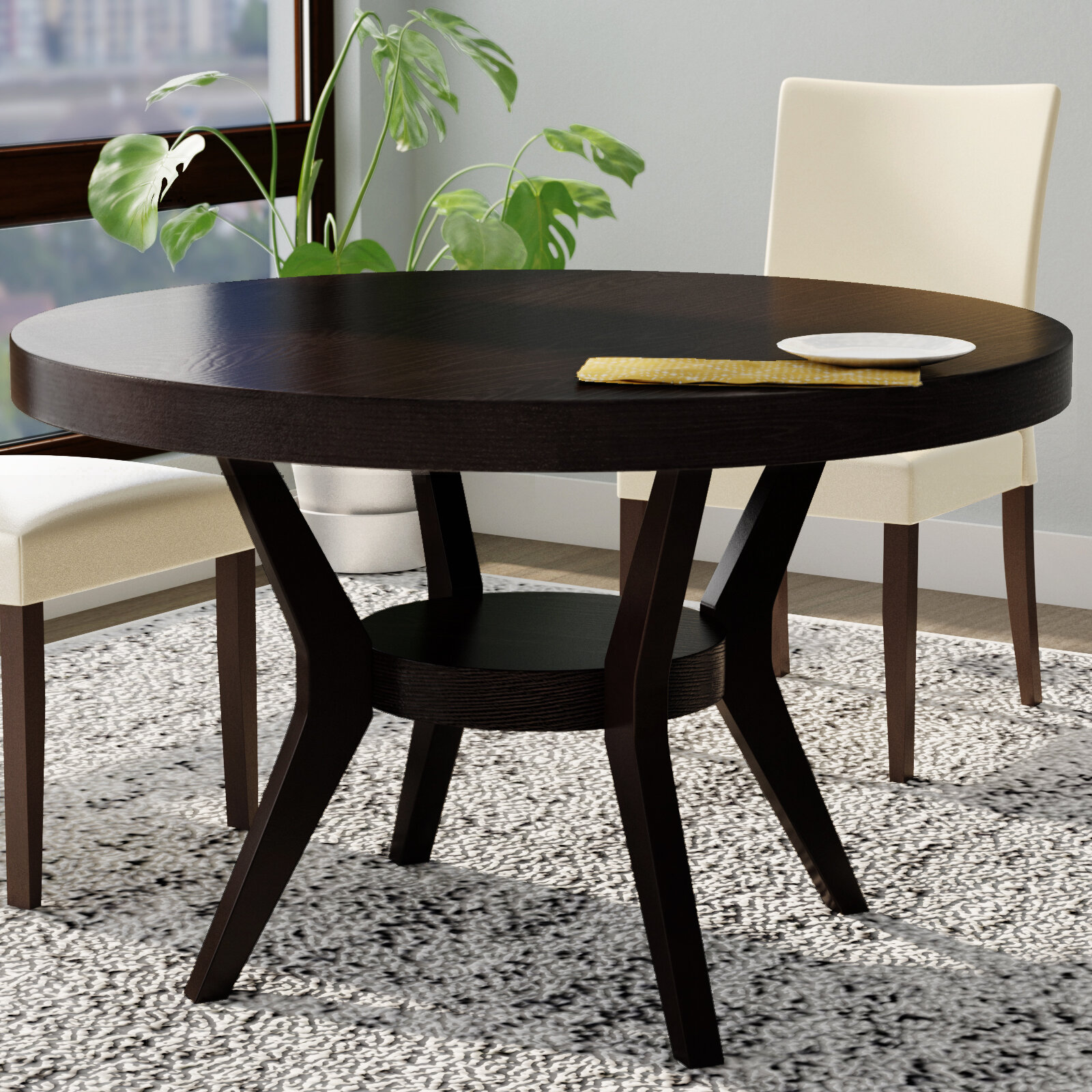 Latitude Run Connor Transitional Dining Table Reviews