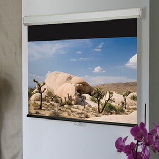 Luma 2 Matt White Electric Projection Screen