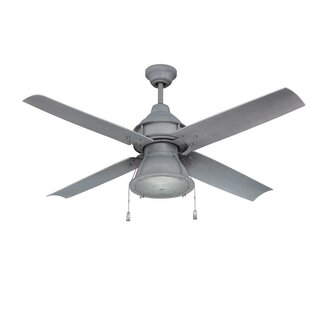 52 Martika 4 Blade Outdoor LED Ceiling Fan, Light Kit Included