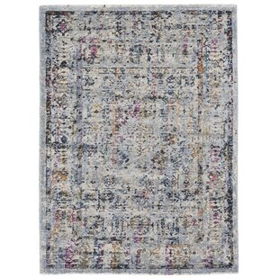 Aail Fog Pink Purple Area Rug