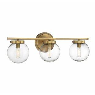 Modern Clear/Glass Shade Vanity Lighting | AllModern