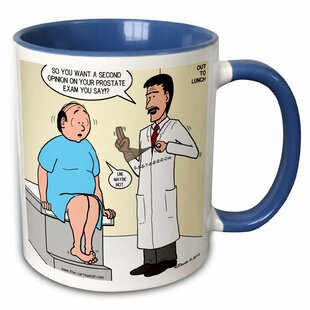 Medical Second Opinion for Prostate Exam Coffee Mug