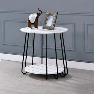 Bashaw End Table by Wrought Studio