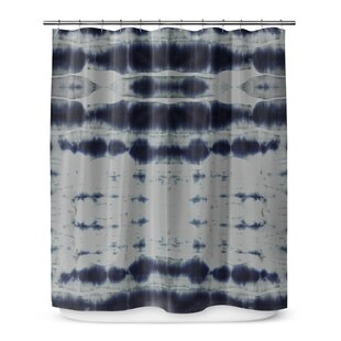 Shibori Stripe Shower Curtain By KAVKA DESIGNS