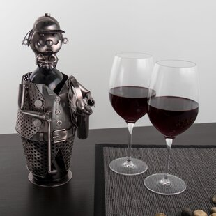 Gallaher Golf Player 1 Bottle Tabletop Wine Rack