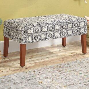 Mistana Eudora Wood Storage Bench