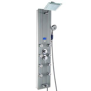 AKDY Tower Pressure Balanced Thermostatic Rain Shower Panel By AKDY