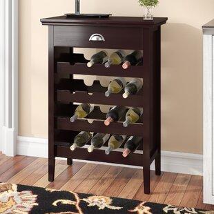 Darby Home Co Jonnie 16 Bottle Wine Bar