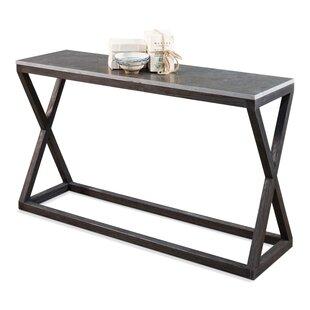 Sarreid Ltd Lewis Cross Console Table