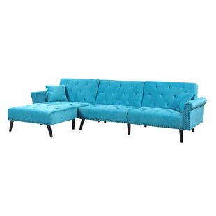 Affordable Price Salcombe Reversible Sectional By House of Hampton