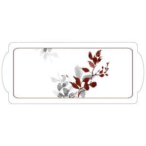 Kyoto Leaves Tidbit Serving Tray