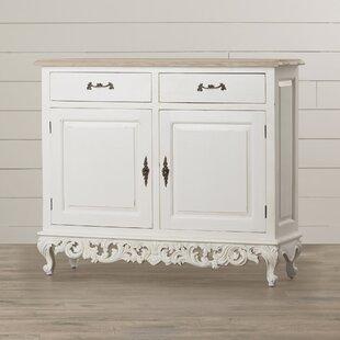Tangerine 2 Door Baroque Accent Cabinet by One Allium Way