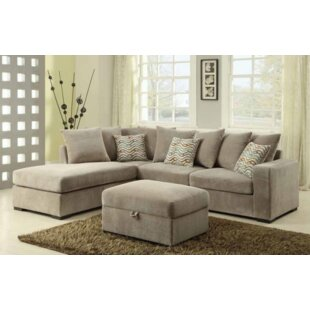 Bueno Reversible Sectional With Ottoman by Red Barrel Studio Design