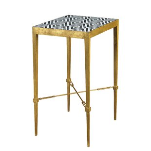 Cohutta Diamond Micro Mosaic End Table by Brayden Studio