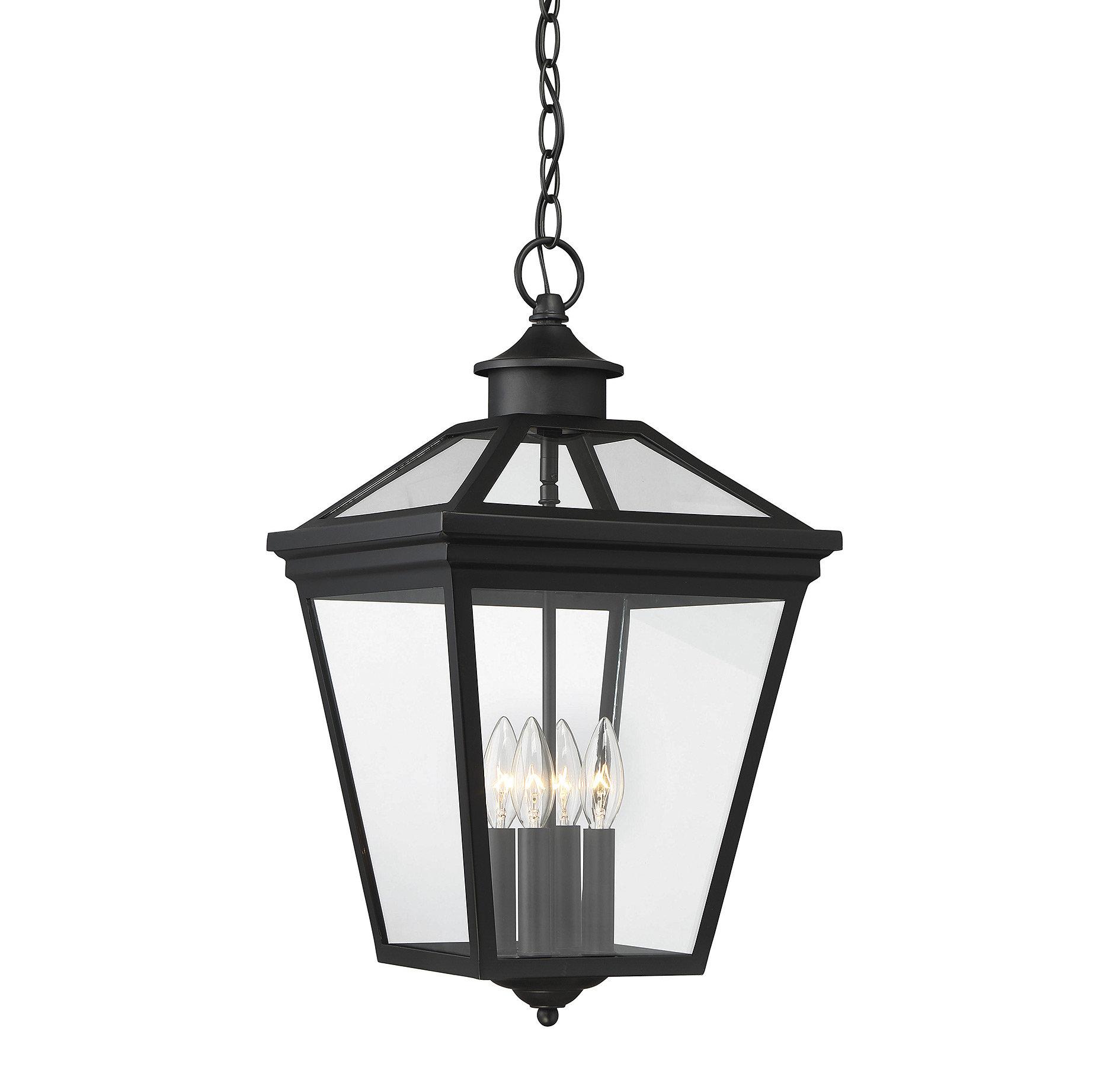 Coleg 4 Light Outdoor Hanging Lantern