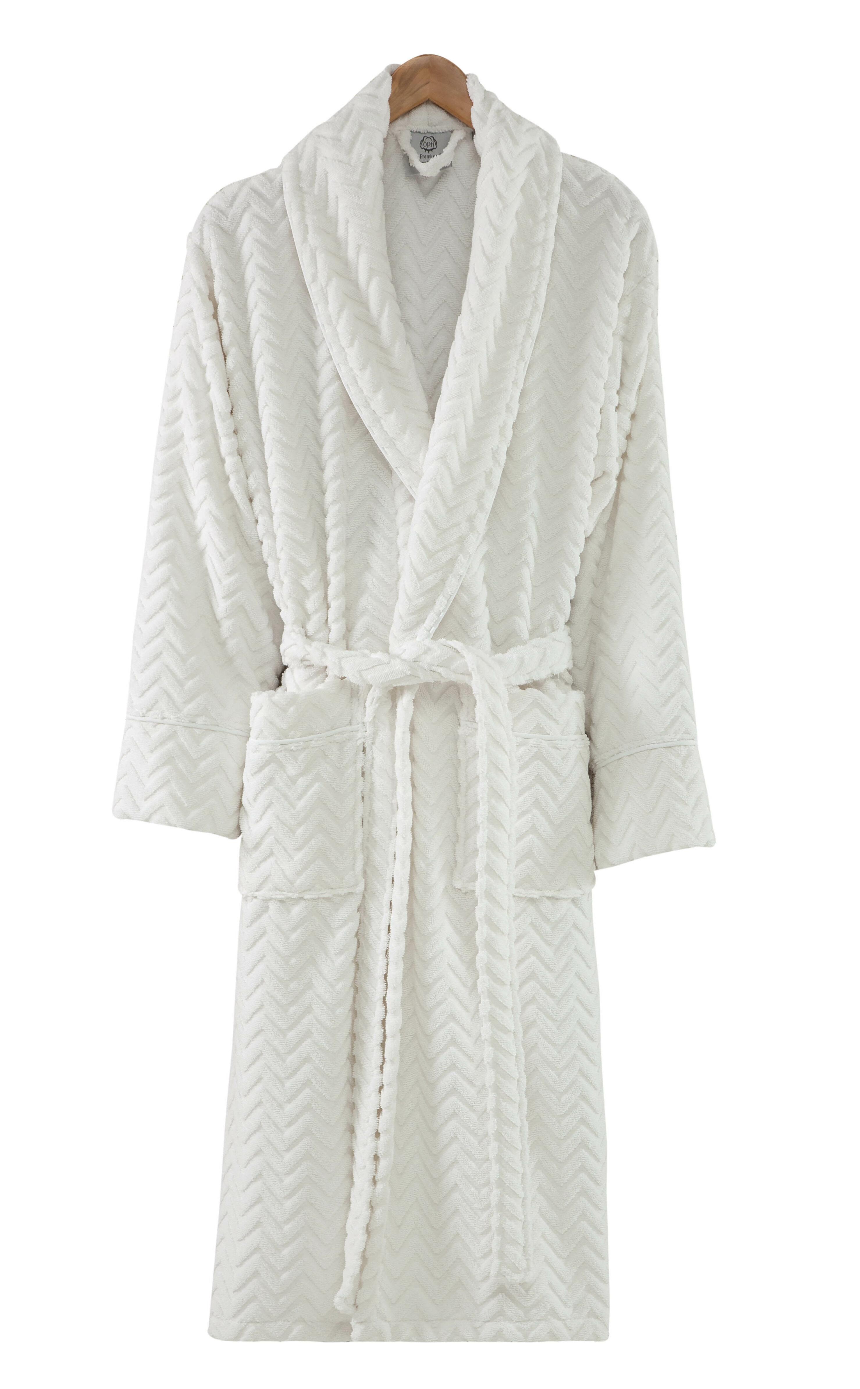 Symple Stuff 100 Turkish Cotton Terry Cloth Bathrobe Wayfair