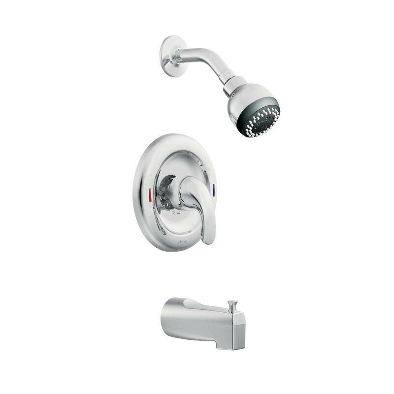 Moen Adler Pressure Balance Tub And Shower Faucet Trim Reviews