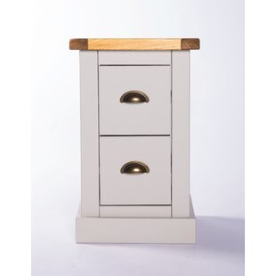 Caenada 2 Drawer Bedside Table By Brambly Cottage