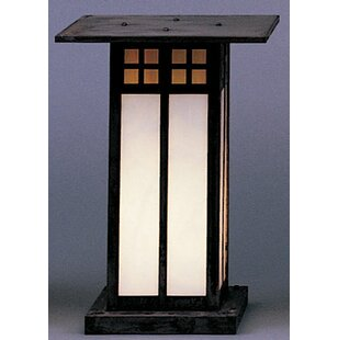Glasgow 1-Light Pier Mount Light by Arroyo Craftsman