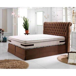 Romeo Upholstered Bed Frame By Rosalind Wheeler