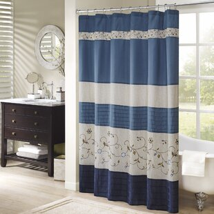 West Drive Polyester Shower Curtain