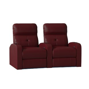 Home Theater Curved Row Seating (Row of 2) by Latitude Run