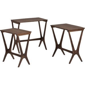 Laurel 3 Piece Nesting Table Set by Langley Street