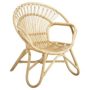 Palmyra Natural Armchair By Bay Isle Home