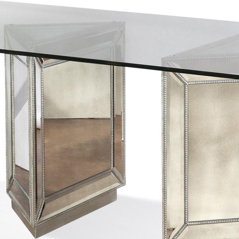 Hattie Mirrored Dining Table