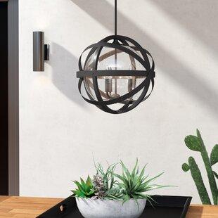 Stefanie 3-Light Outdoor Pendant by Trent Austin Design