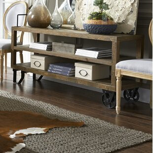 17 Stories Dirks Reclaimed Wood Console T..