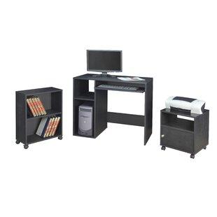 Regency SoHo 3 Piece Desk Office Suite