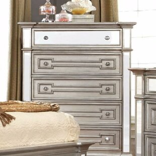 Rosdorf Park Loper Contemporary 5 Drawer Chest