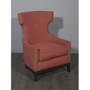 Euston Wingback Chair by Rosdorf Park