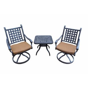 Darby Home Co Arness 6 Piece Lounge Set and Bistro Set