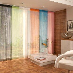 Bamboo Semi Sheer Panel Curtains