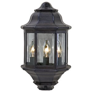 Pocket Lantern 3-Light Outdoor Flush Mount