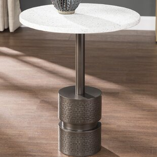 Novak Marble-Top End Table