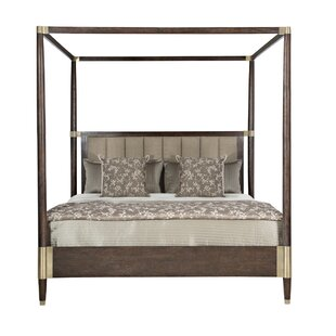 Find for Claredon Upholstered Canopy Bed by Bernhardt Reviews (2019) & Buyer's Guide