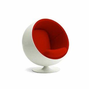 Kaplan Swivel Balloon Chair by Orren Ellis