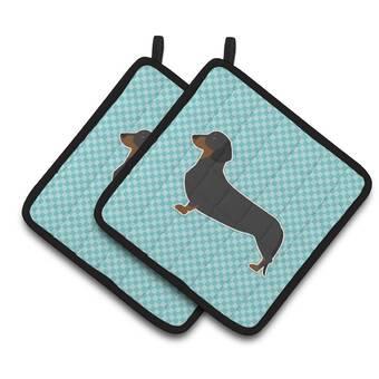 Caroline S Treasures Dog House Dachshund Oven Mitt Wayfair