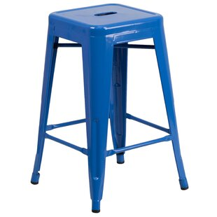 Blue Bar Stools