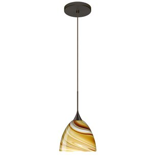 Besa Lighting Sasha 1 Integrated Bulb Mini Pendant