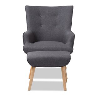 Corrigan Studio Crantor Lounge Chair and Ottoman