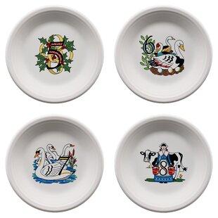 Twelve Days of Christmas Salad Plate  sc 1 st  Wayfair & Christmas Plates Set | Wayfair