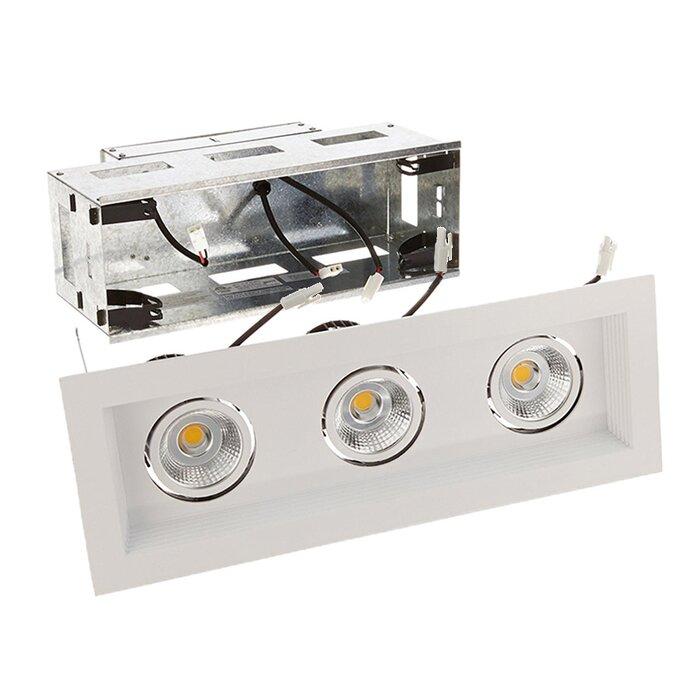 Mini Multiple 3 Light Remodel Housing 5 Led Recessed Lighting Kit