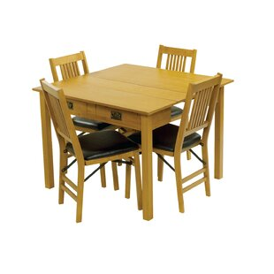 Berkshire 5 Piece Dining Set by Red Barrel Studio