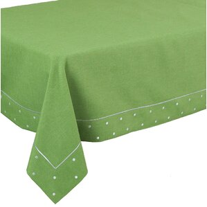 Breen Embroidered Easy Care Tablecloth